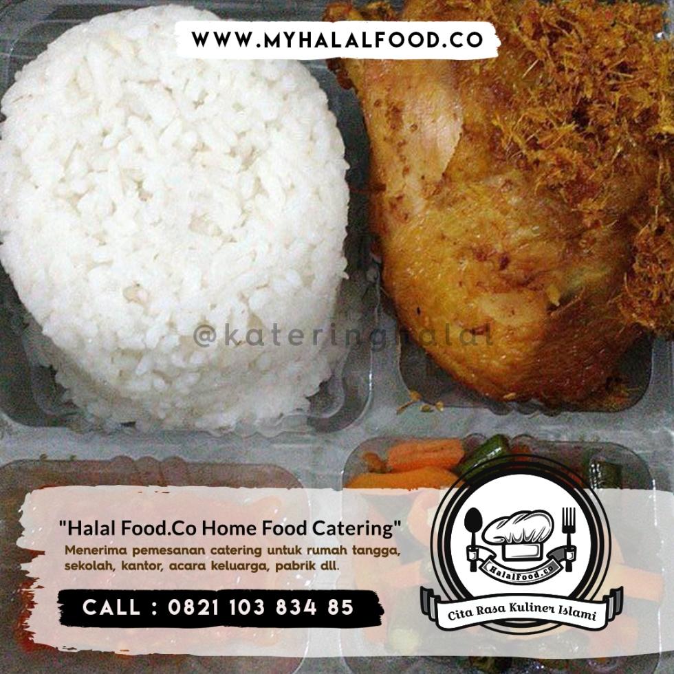 paket nasi box sederhana