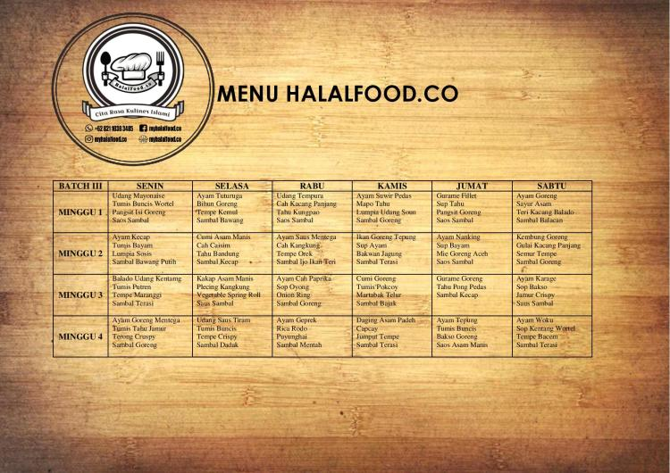 daftar-menu-catering-harian-di-bekasi-bulan-maret