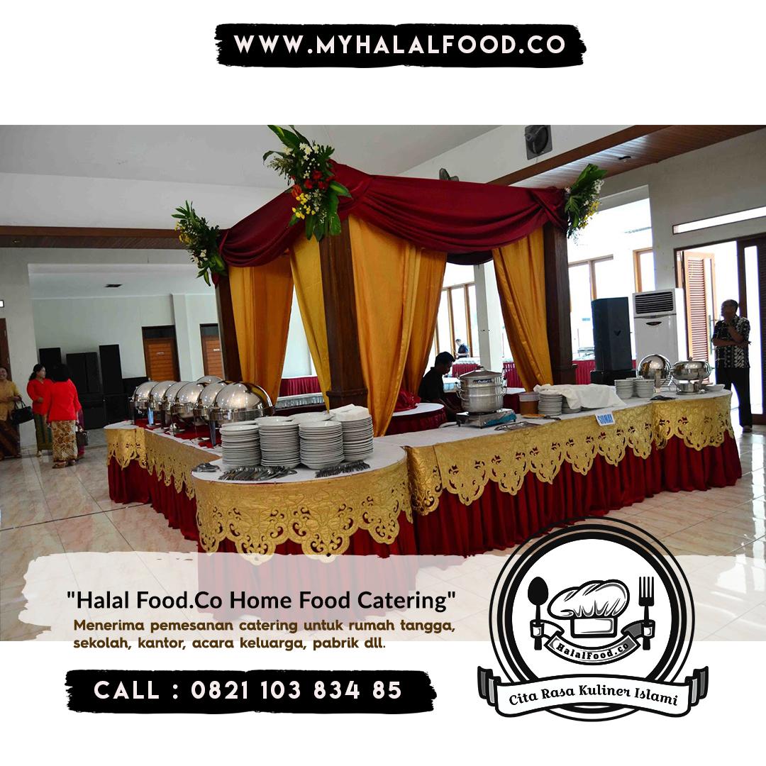 Catering prasmanan sunatan di Jatibening Bekasi