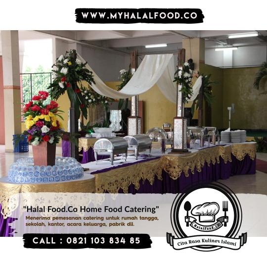 Catering prasmanan sunatan di Rawalumbu, Galaxy dan Sekitar Bekasi Selatan