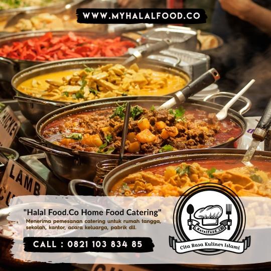 katering Prasmanan di Harapan Indah | Myhalalfood.co
