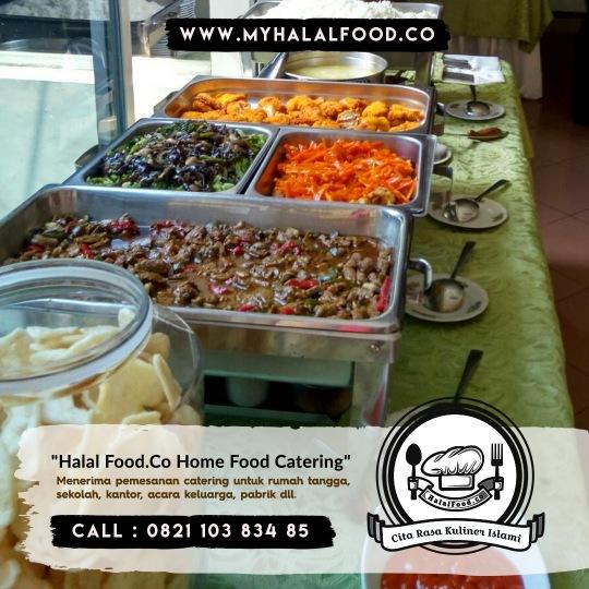 Jasa katering Prasmanan | Myhalalfood.co