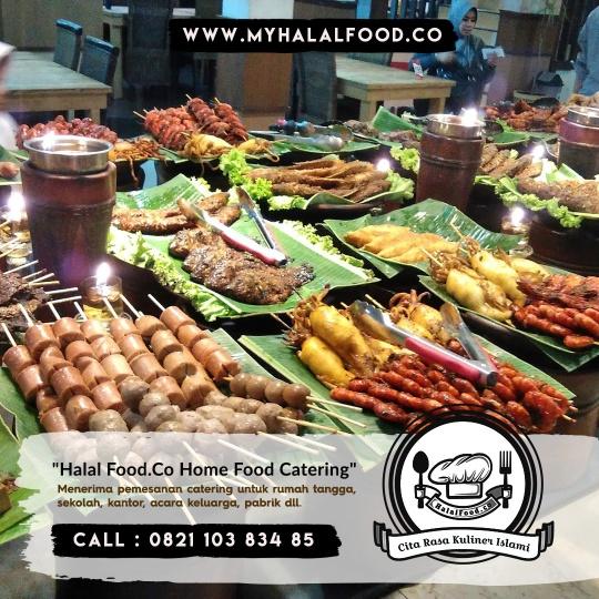 katering Prasmanan di Kemang Pratama, Rawalumbu