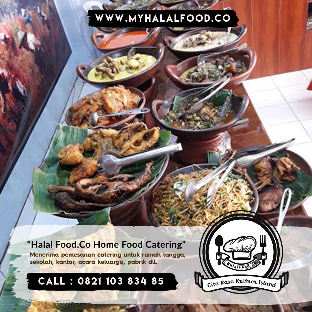 Katering prasmanan | katering Sehat Myhalalfood.co