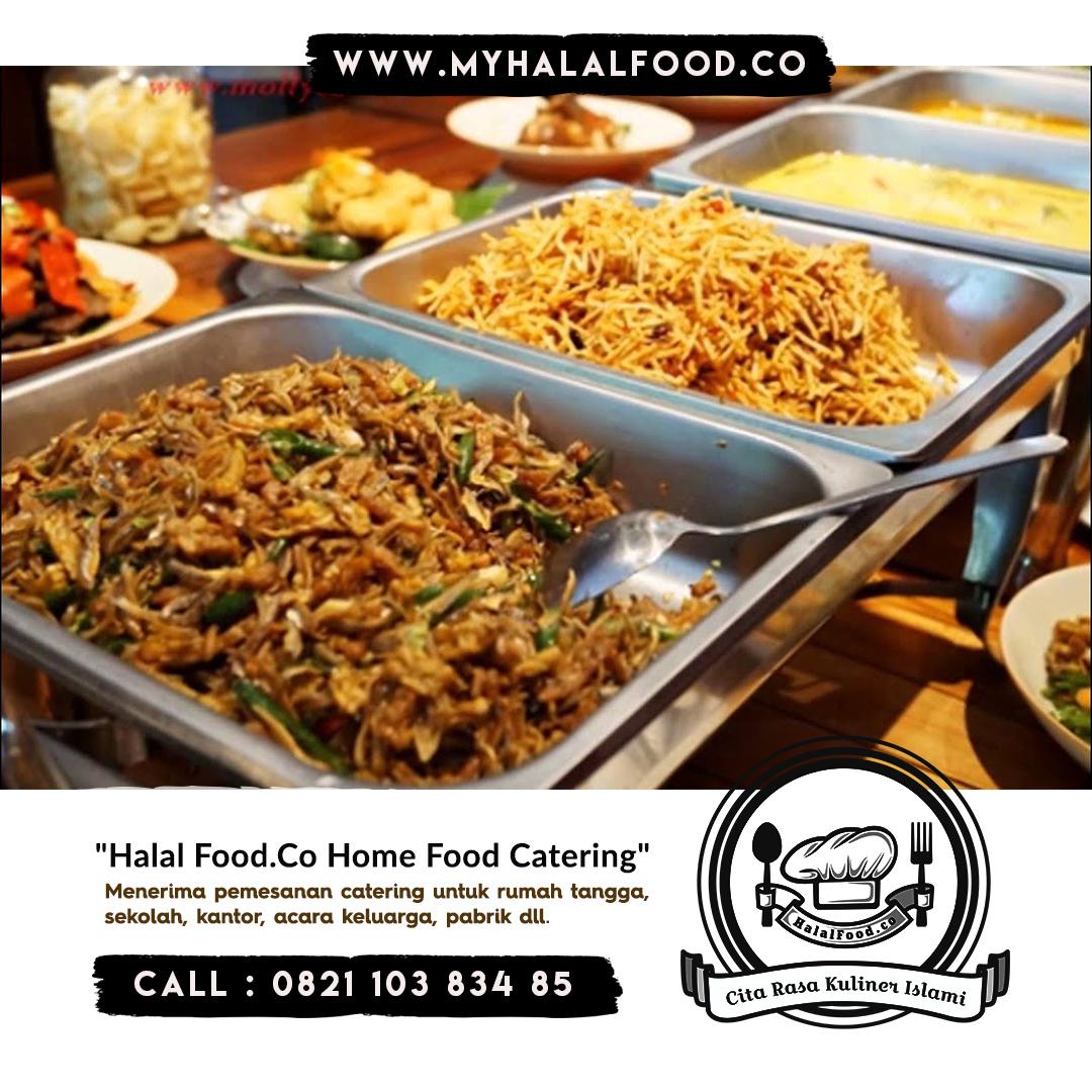 katering prasmanan pernikahan di Harapan Indah | Myhalalfood.co