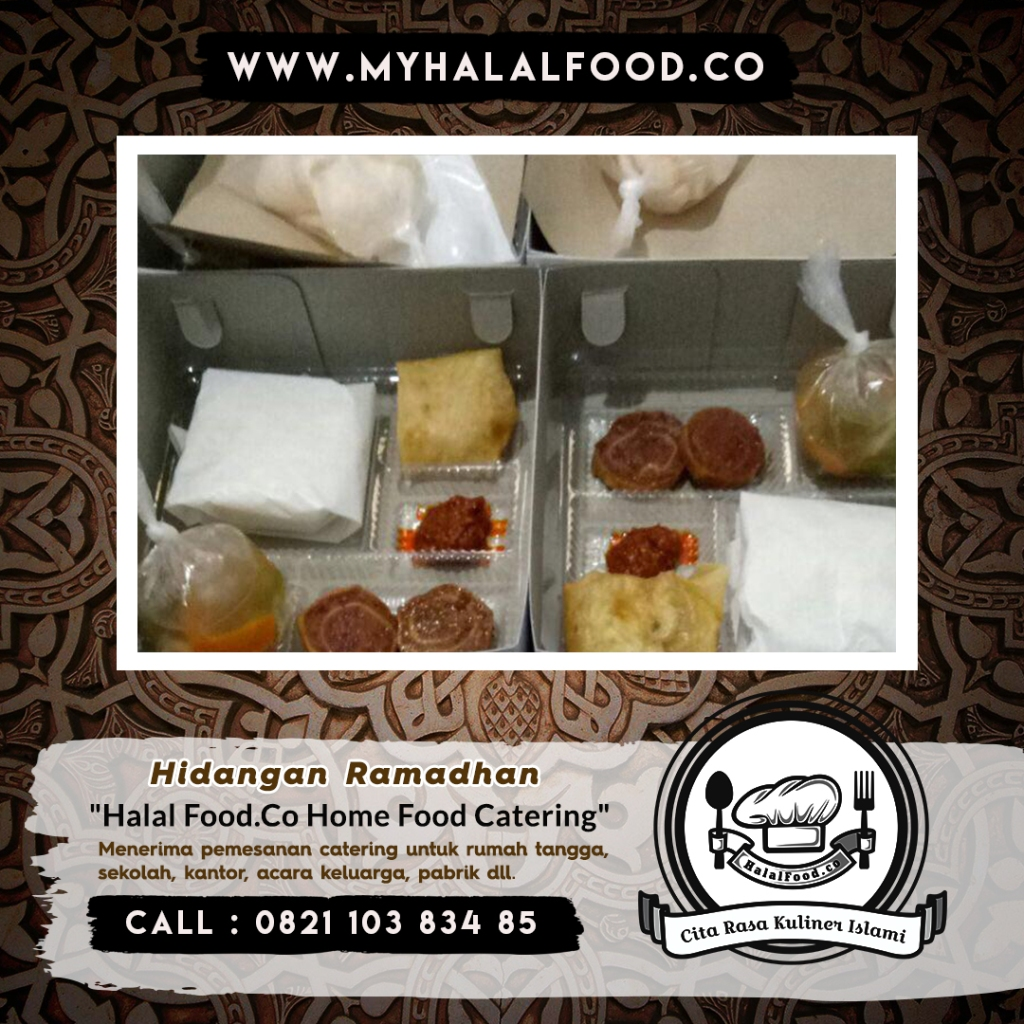 catering harian ramadhan di Bekasi Selatan dan Sekitar Bekasi