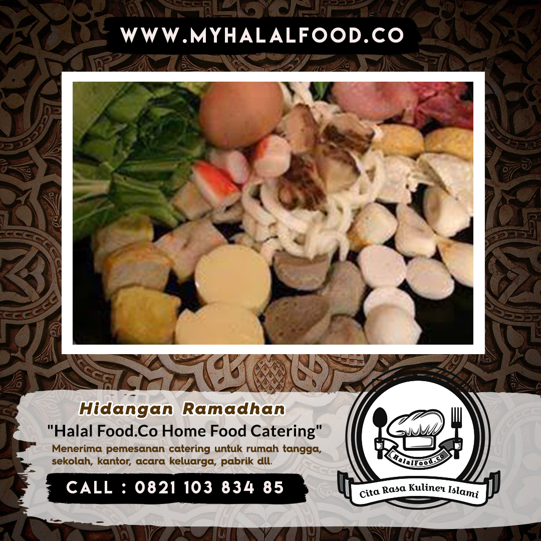 Jasa catering harian ramadhan | Myhalalfood.co