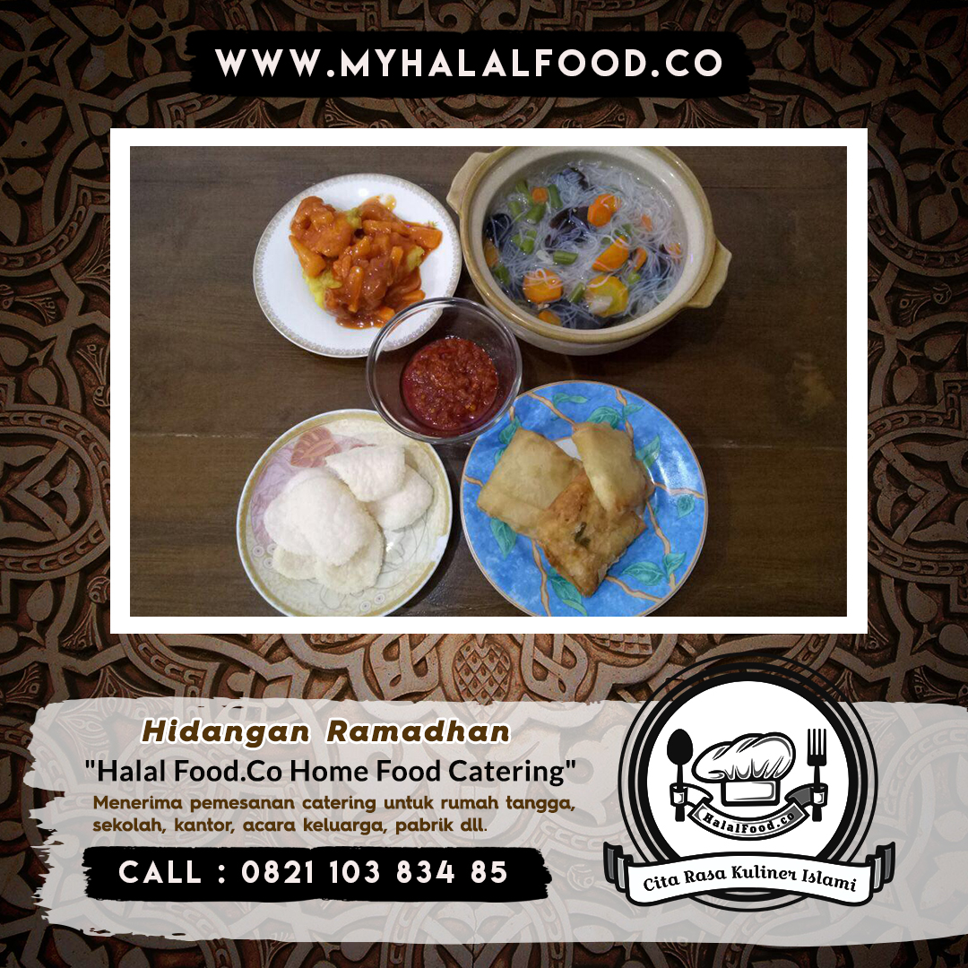 catering buka puasa | catering Sehat Myhalalfood.co