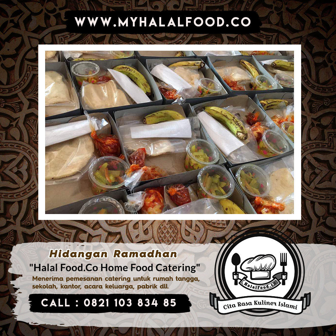 catering harian ramadhan di Galaxy, Summarecon dan Sekitarnya