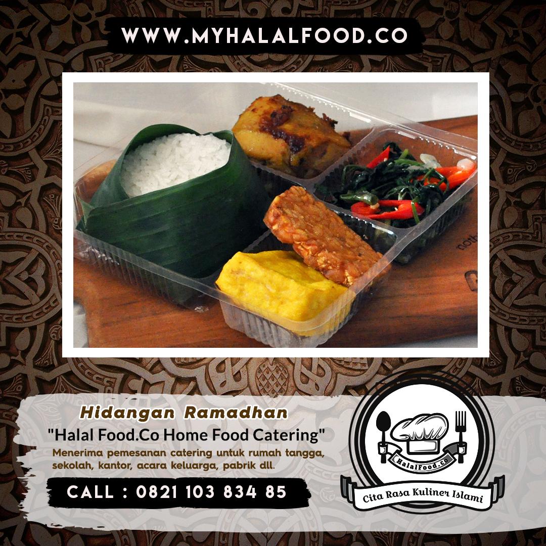 catering harian ramadhan di Harapan Indah | Myhalalfood.co